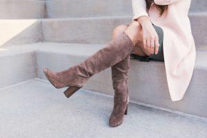 botas altas de mujer