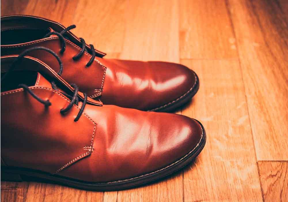 botas de hombre piel